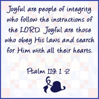 Psalm 119:1-2